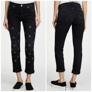 Hudson Riley Crop Star Jeans